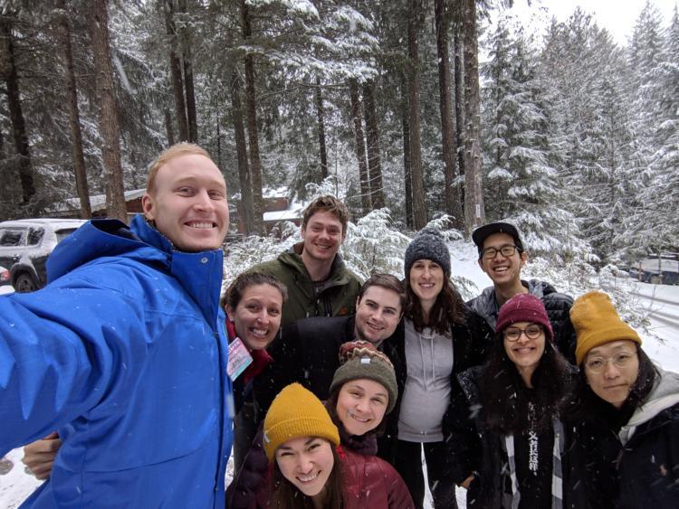 Fellows ski trip